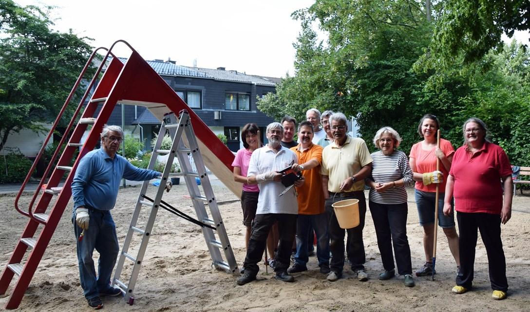 Hoisten-Gruppenfoto