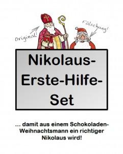 Nikolaus-Erste-Hilfe-Set